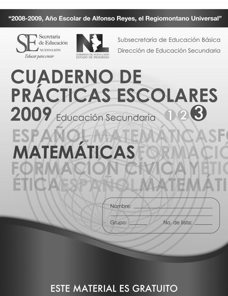 Sec3 Matematicas