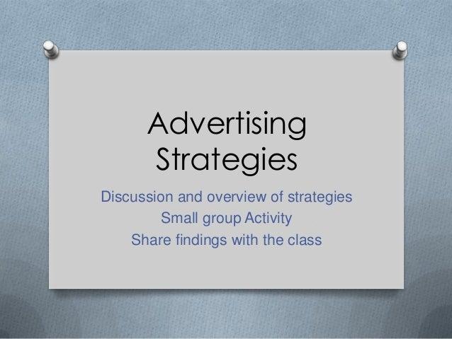 Sec5i advertising strategies