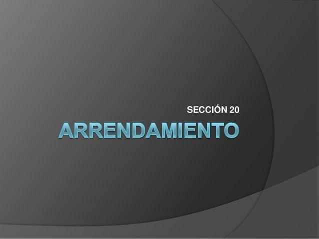 SECCIÓN 20