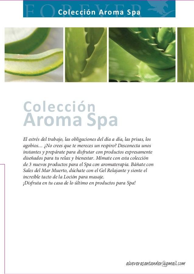 Forever Seccion Aroma Spa