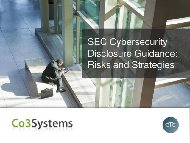SEC Cybersecurity Disclosure Guidelines