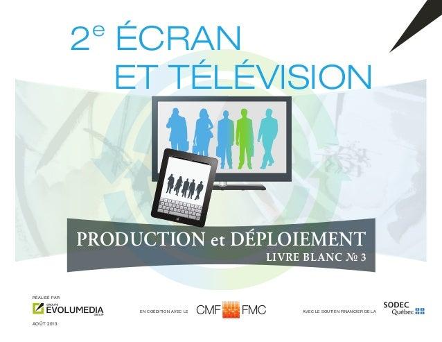 Second Ecran et télévision