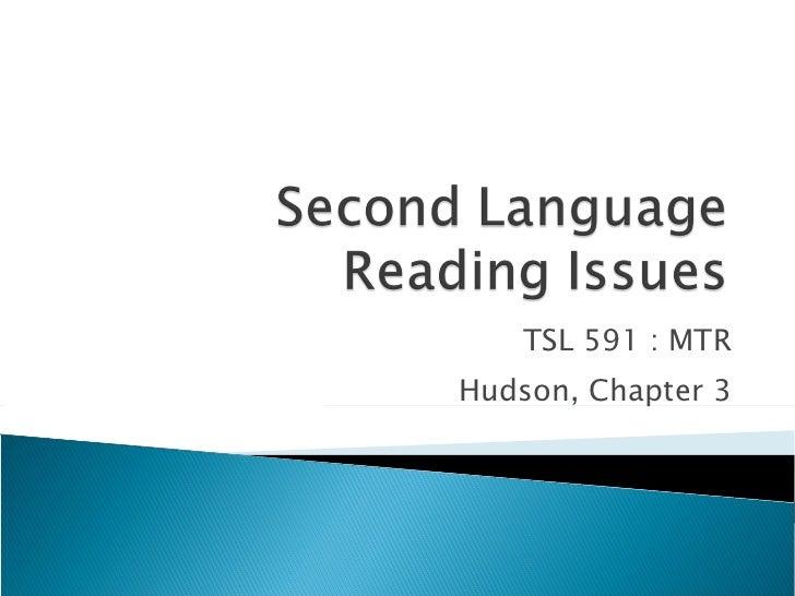 Second Language Reading Issus