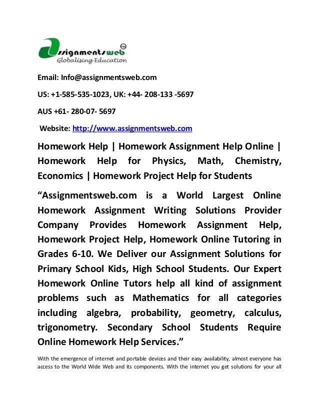 homework help online for kids