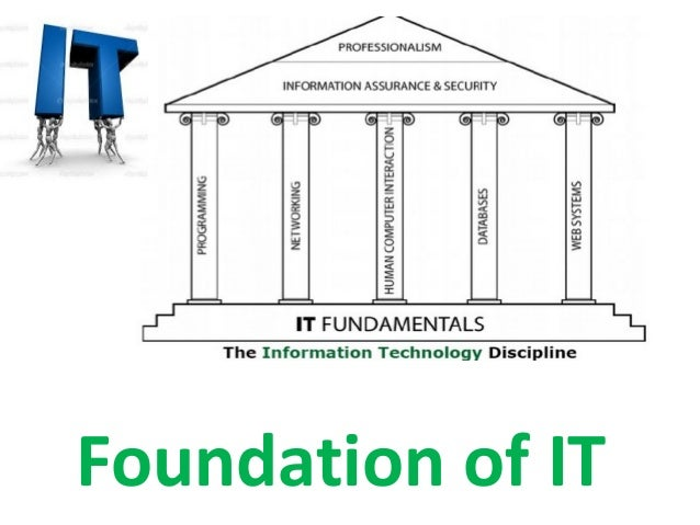 Foundation of IT