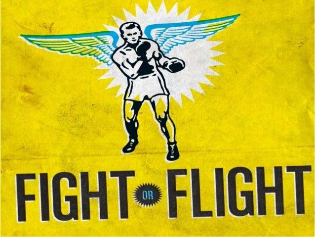 Second chance church, sermon slide, feb 3, 2013   fight or flight