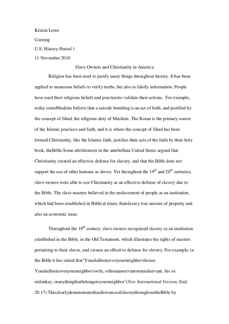 slavery research paper I am an international student who studies in an american university i want you to write a research paper consisted of 8 pages ( 2000 words ) about the history of slavery in the united states with at least 3 academic resourcesi don't want you to write it in a professional way, but i want it.