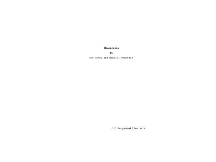 Second draft of script