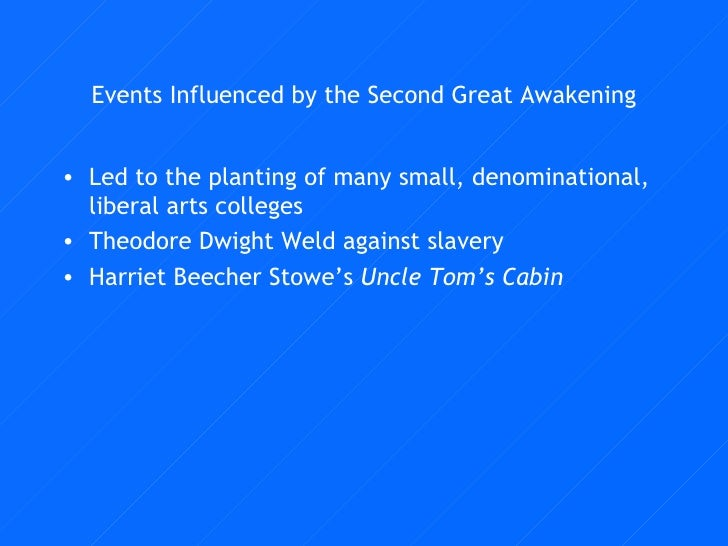 impact of second great awakening on What was the impact of the second great awakening religious fervor provided a way for the nation to establish a sense of order and stability in the search for a national identity what impact did the second great awakening have on women.