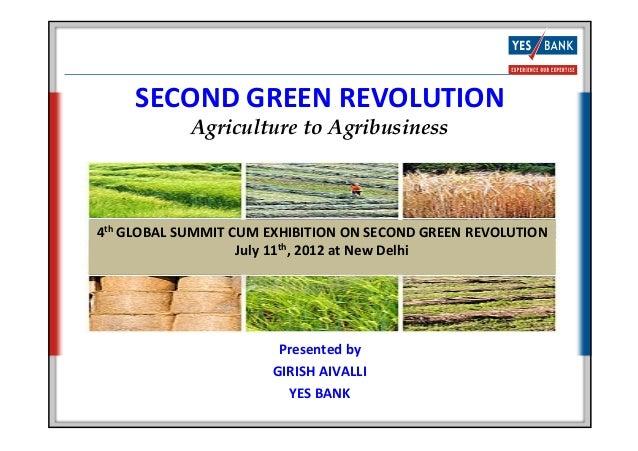 Second Green Revolution_2012
