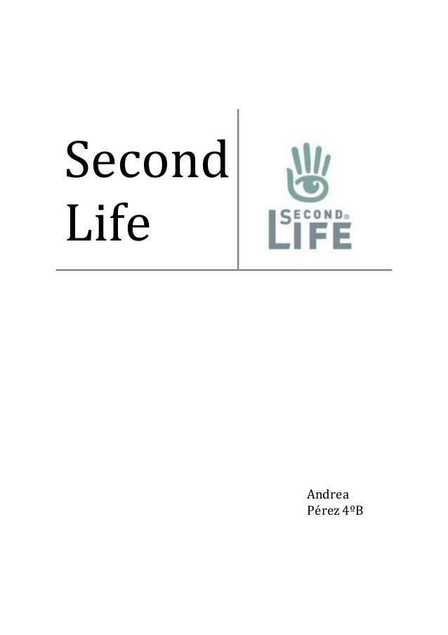 Second Life Andrea Pérez 4ºB
