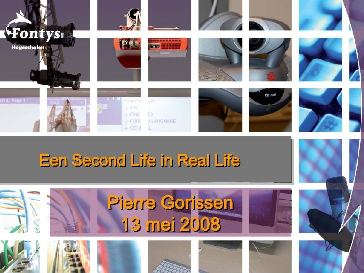 Een Second Life in Real Life