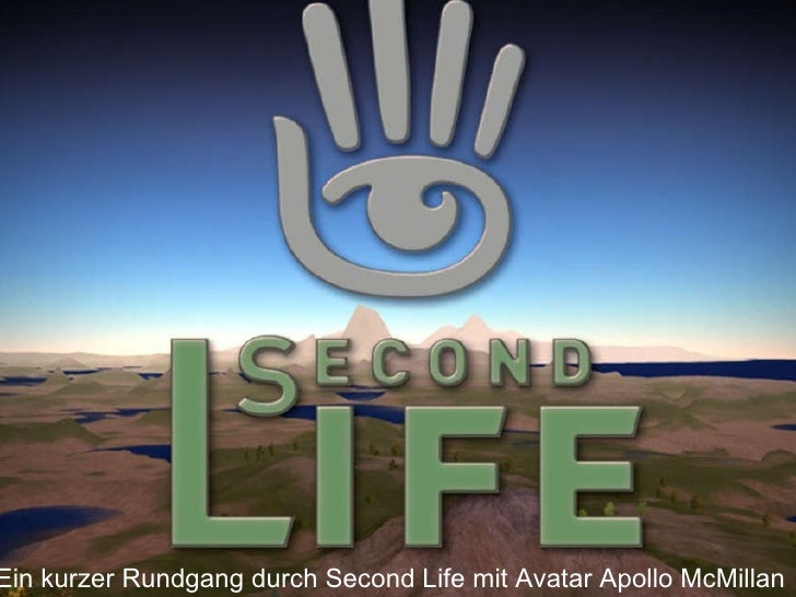Ein kurzer Rundgang durch Second Life mit Avatar Apollo McMillan
