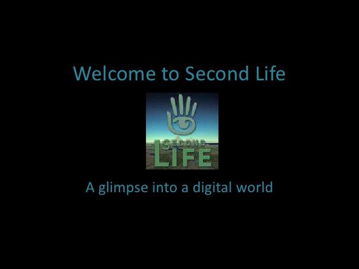 Second Life: A Glimpse into a Digiital World
