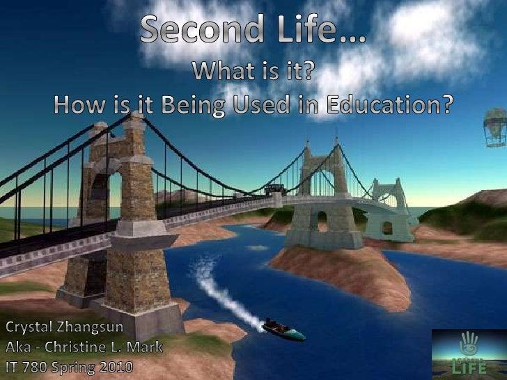 Second Llife Presentation