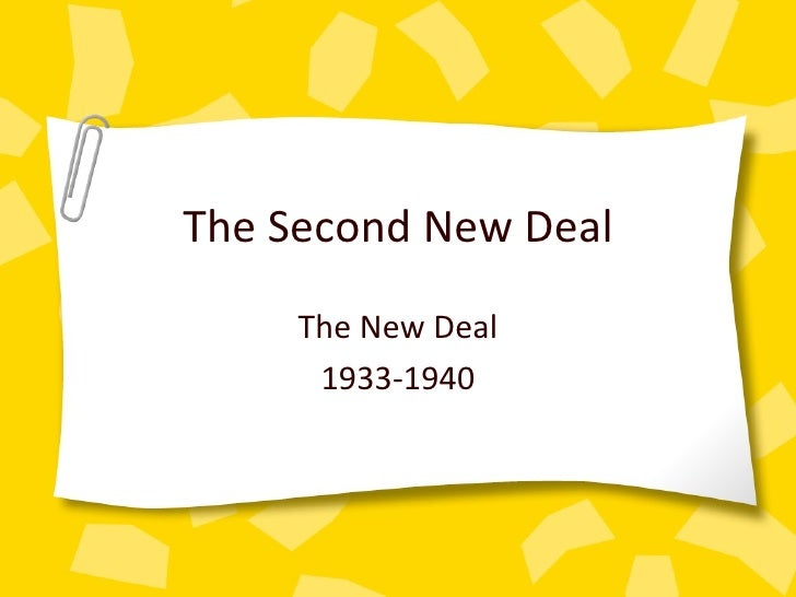 women and new deal programs essay