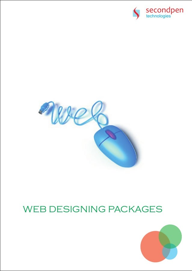 Secondpen Technologies Web Designing Plans