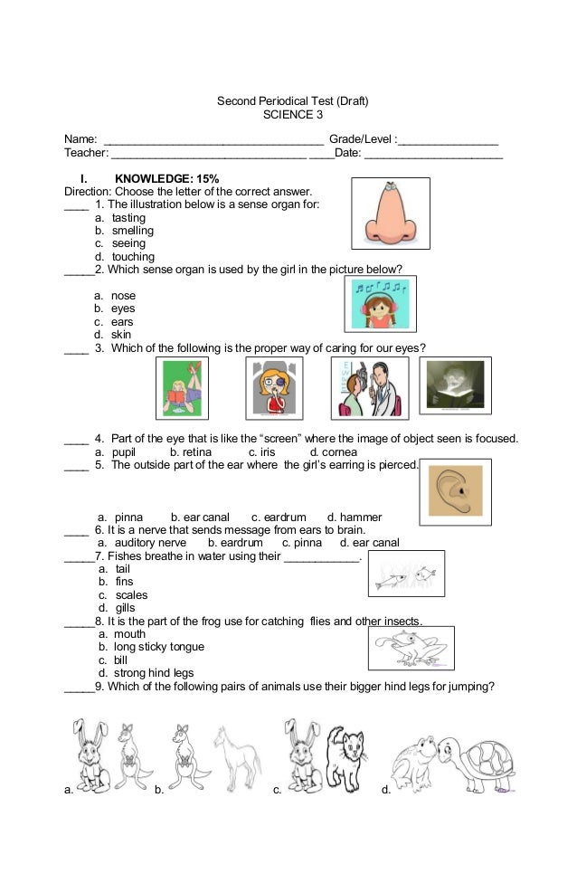 Free science worksheets for grade 7