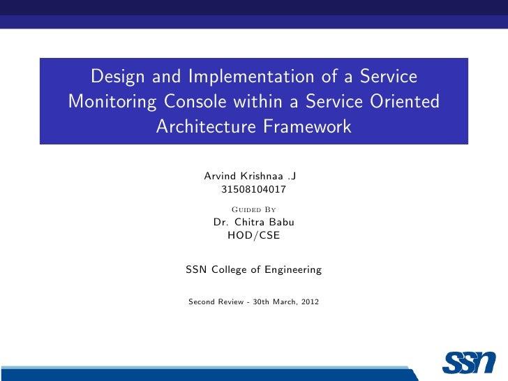 Second review presentation