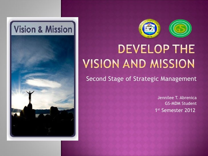 Second Stage of Strategic Management