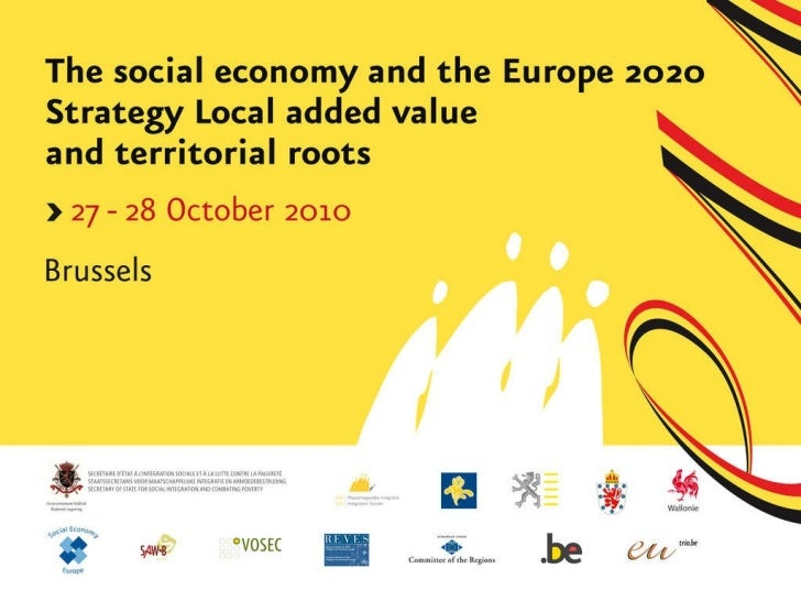 Social economy - Conference Brussels 2010