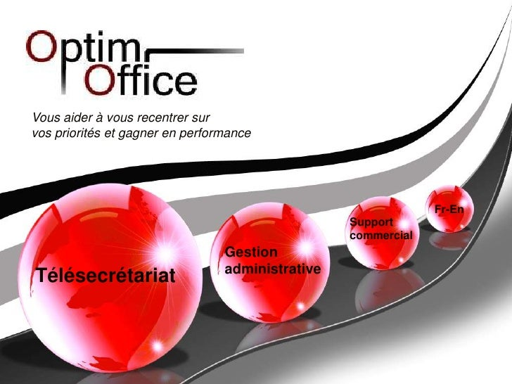 Vous aider à vous recentrer sur <br />vos priorités et gagner en performance<br />Fr-En <br />Support <br />commercial<br ...
