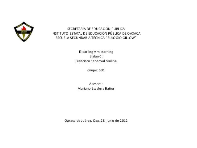 "SECRETARÍA DE EDUCACIÓN PÚBLICAINSTITUTO ESTATAL DE EDUCACIÓN PÚBLICA DE OAXACA  ESCUELA SECUNDARIA TÉCNICA ""EULOGIO GILLO..."