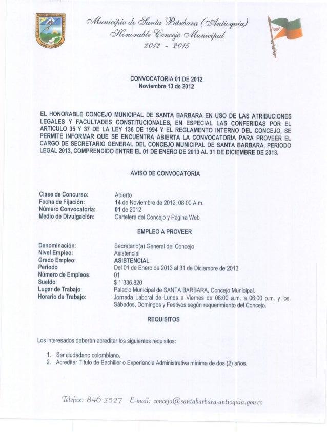Secretaría del concejo