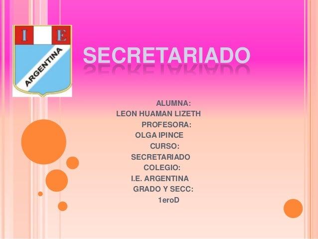 Secretariado