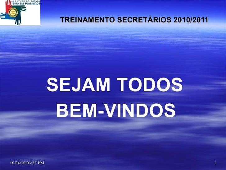 Secretaria treinamento2009.2010.1