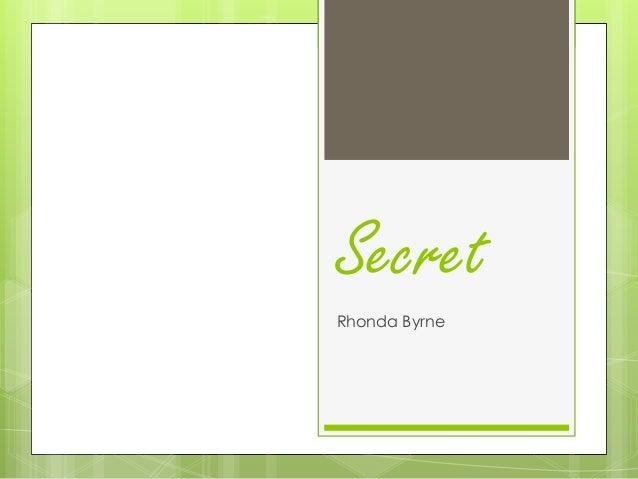 secret rhonda byrne book pdf