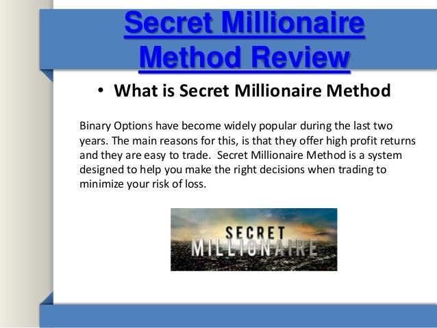Secret method binary options мультивалютный индикатор для forex