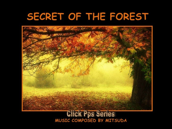 SECRET OF THE FOREST MUSIC COMPOSED BY MITSUDA Click Pps Series