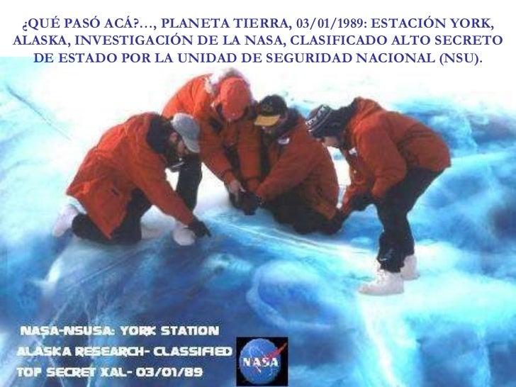 Los secretos que oculta la NASA
