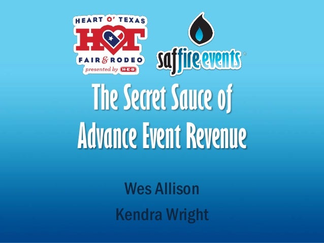 Secret Sauce of Advance Revenue