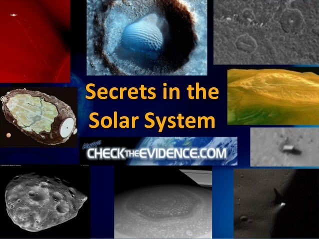 Secrets in theSolar System