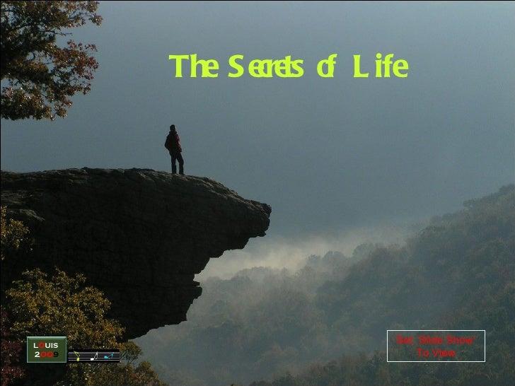 Secrets of life_