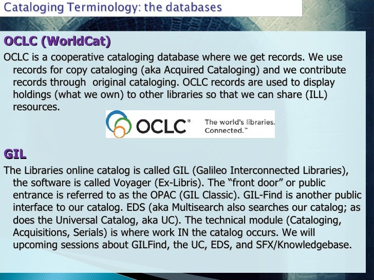 oclc worldcat dissertations and theses Worldcat dissertations and theses local access for all registered users (oclc) a subset of worldcat intro to the hpd library databases.