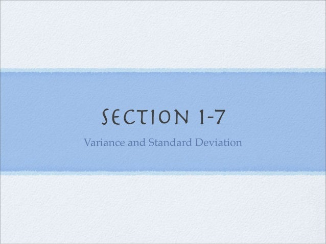 Section 1-7