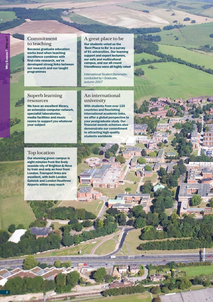 Postgraduate prospectus 2009 section 2  Why Sussex