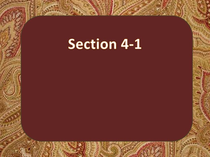 Section 4-1<br />