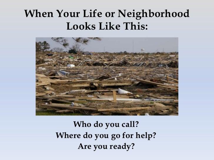 Disaster Response & Preparedness