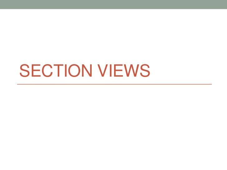 Sectionviews