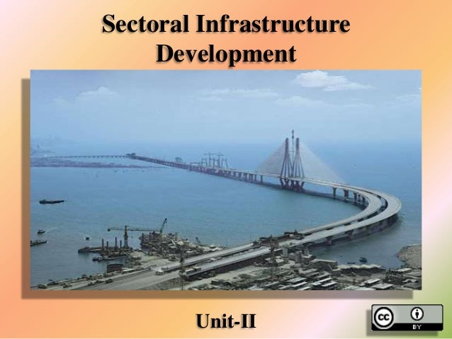 Sectoral Infrastructure Development  Unit-II
