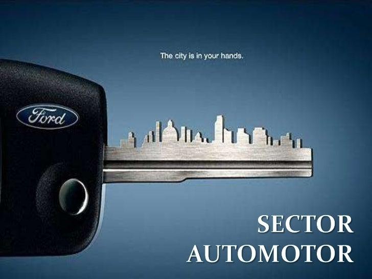 Sector automotor