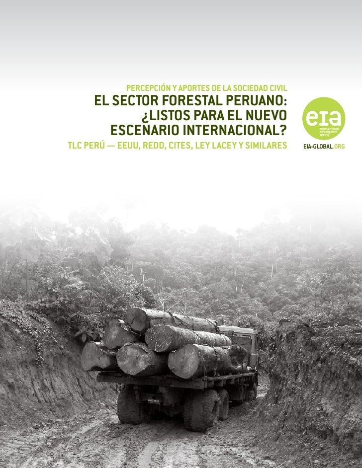 Sector foretal peruano tlc   redd