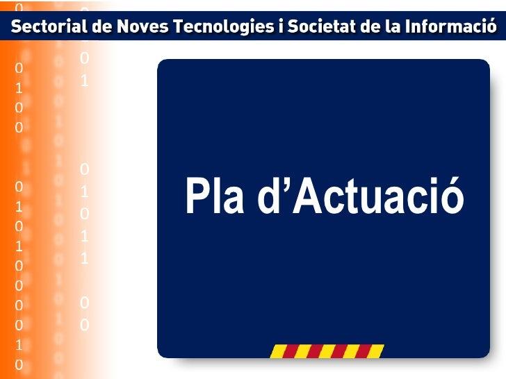 Sectorial de Noves Tecnologies i Societat del Coneixment de CDC