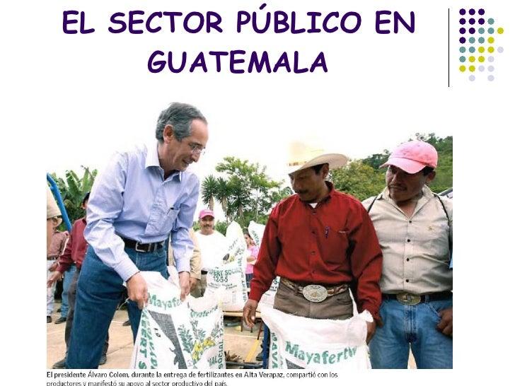 Sector público en Guatemala