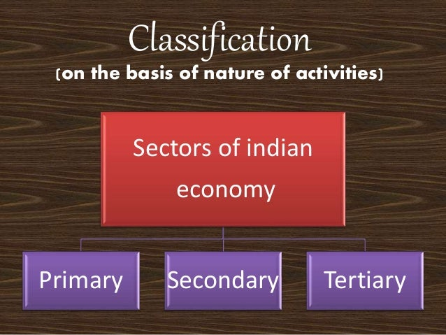 secondary sector of india It can be seen that the primary sector's share is decreasing in india and the manufacturing or secondary sector has been maintaining its share, whereas the tertiary or service sector is gaining the lost share of the primary sector.