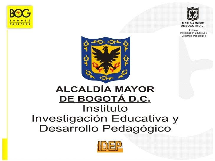 InstitutoInvestigación Educativa y  Desarrollo Pedagógico
